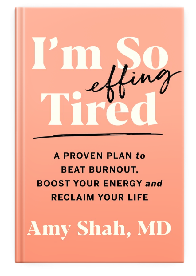 Amy Shah Book: I'm So Effin' Tired: Dr. Amy Shah is a physician who's written a book about beating burnout. Check it out in our SoMeDocs Writers Section.